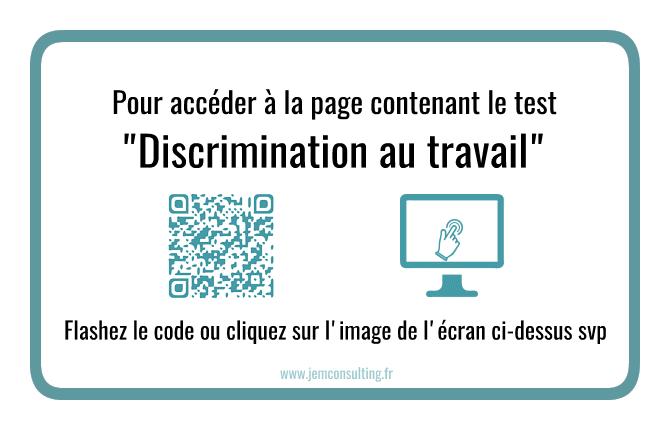 Test : discrimination au travail