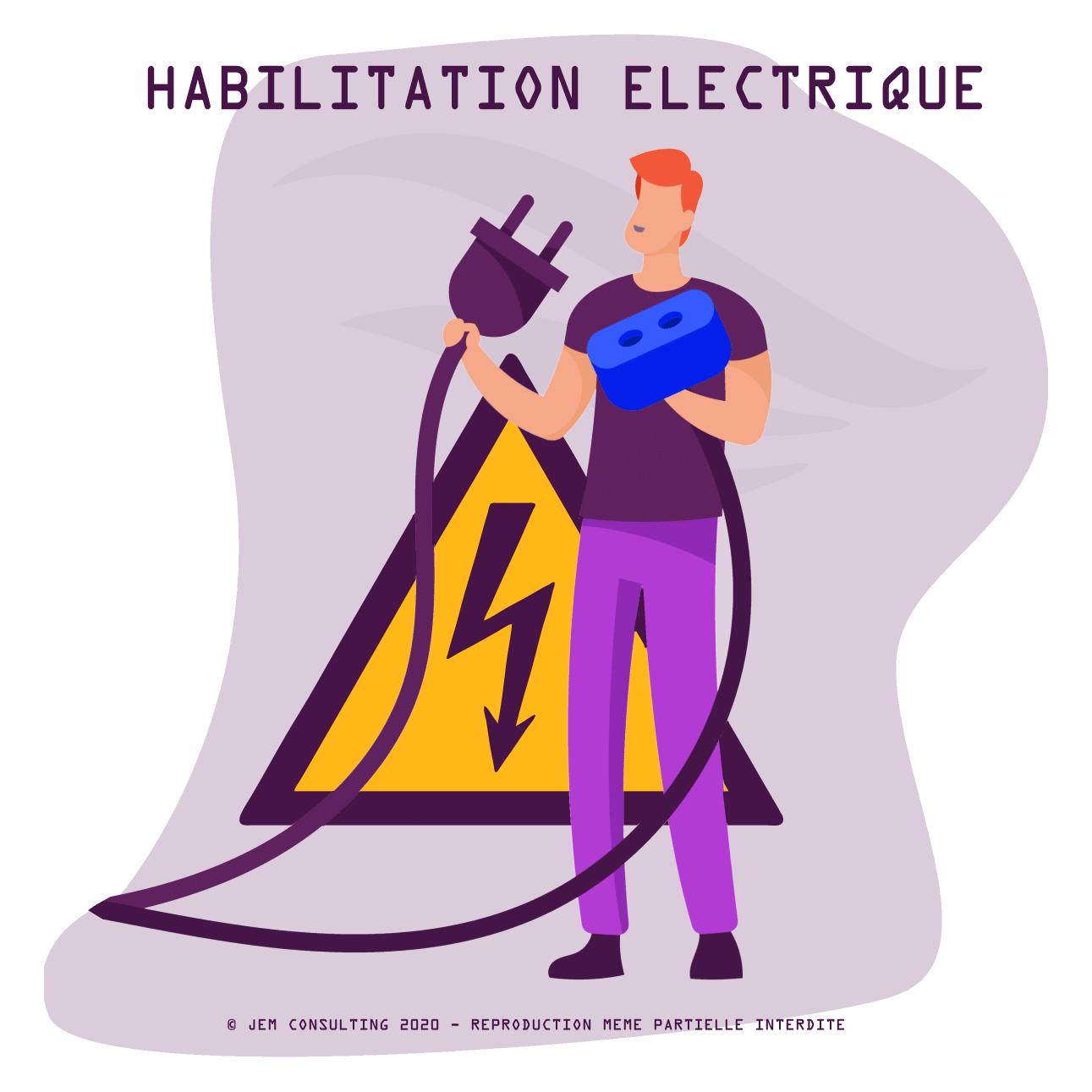 Habilitation électrique B0-H0 BF-HF