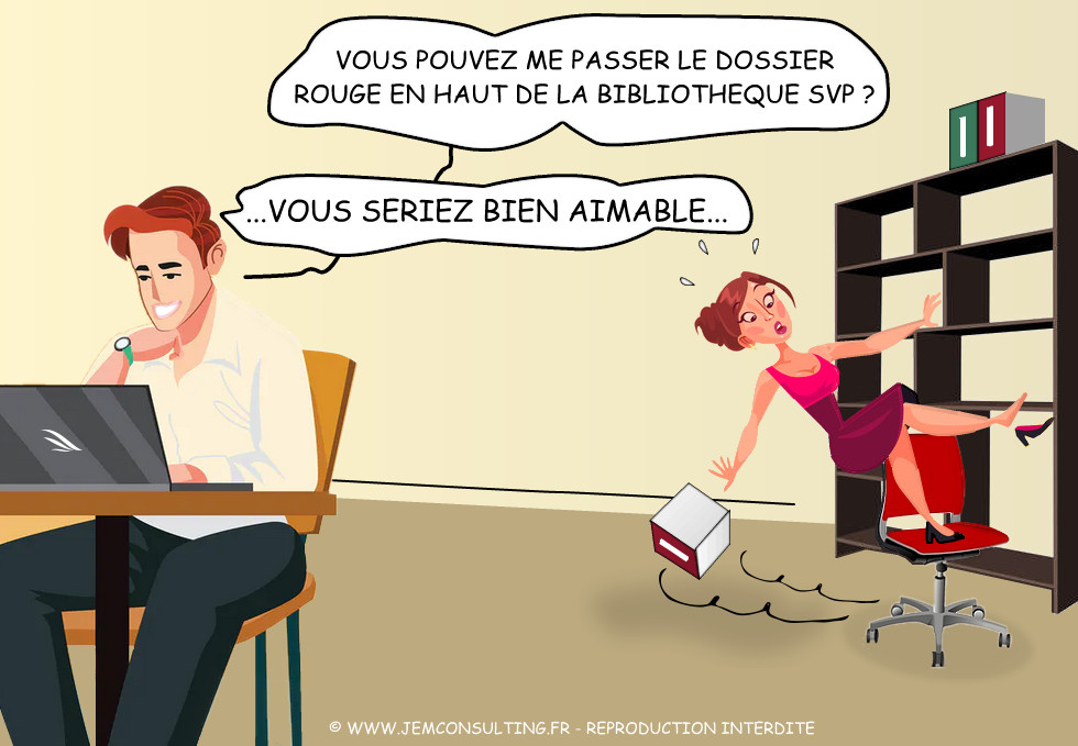 Attention travail en hauteur !