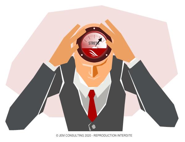 La montée en puissance du stress dans l'esprit