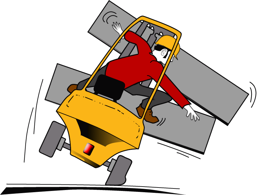Chariot qui bascule