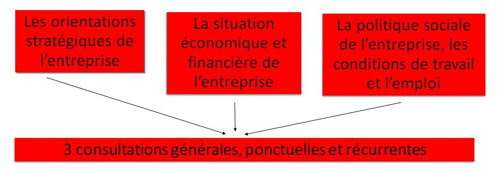 Consultations générales du CSE