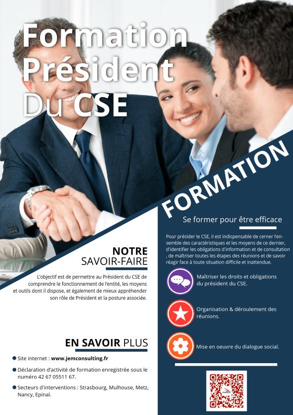 Formation Président du CSE
