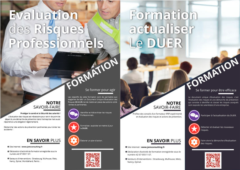 Formations duer duerp