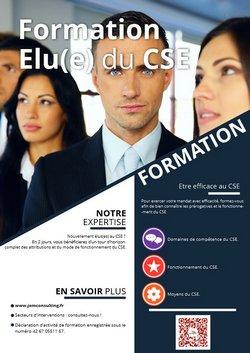 Formation élus du CSE