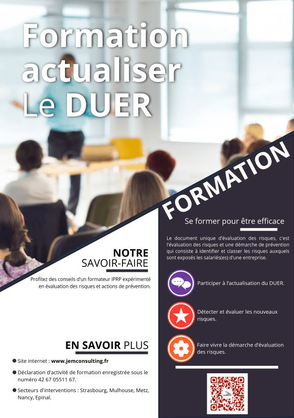 formation duer