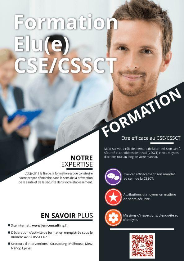 Formation élu CSE CSSCT