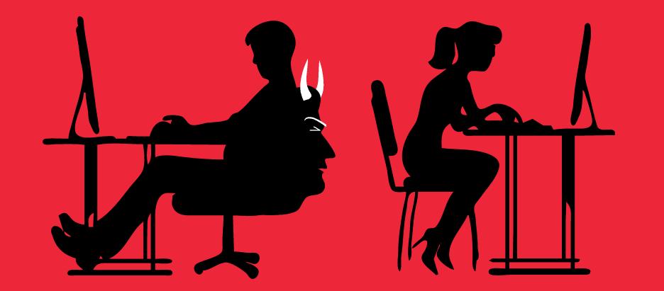 harcèlement au bureau