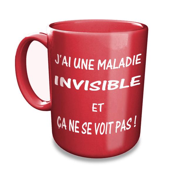 J'ai une maladie invisible