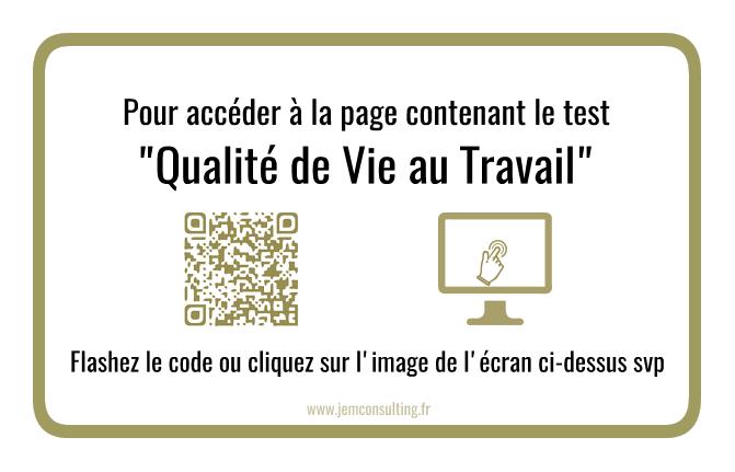 Test qualité de vie autravail QVT