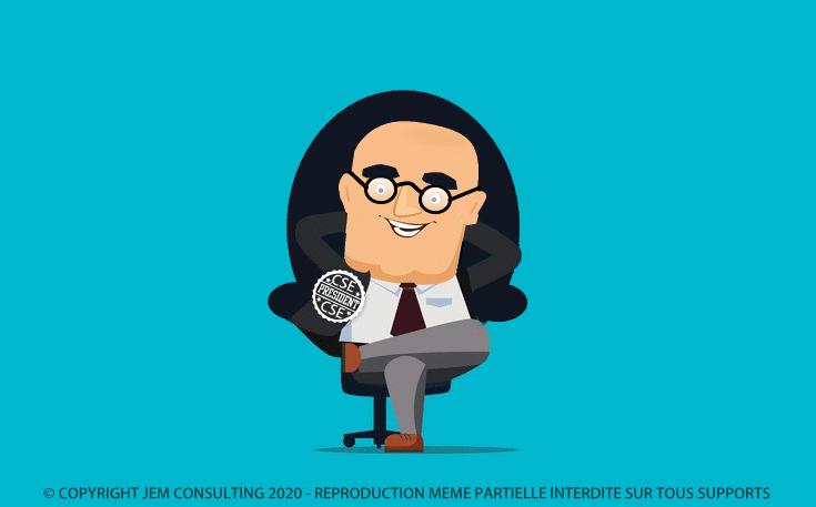 Le président du CSE