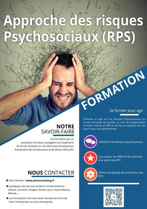 Formations risques psychosociaux