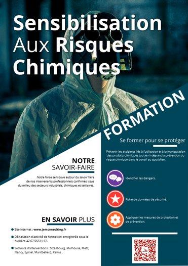 Sensibilisation aux risques chimiques