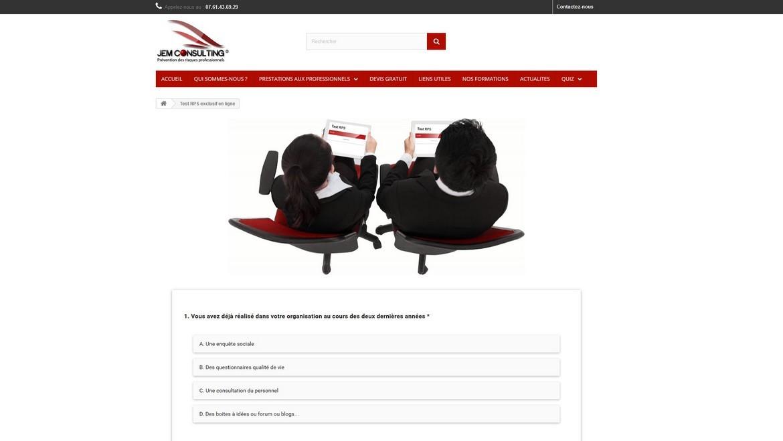 Accèder au test RPS exclusif de Jem Consulting