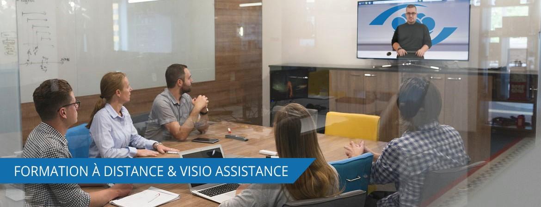 Découvrez notre site dédié à la formation à distance, visio-assistance et visioconférence